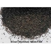 High Cleanliness Aluminum Oxide Sand, F12 - F220 Blasting Media For Bonded Abrasives Manufactures