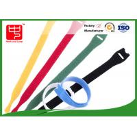 Durable T shape hook and loop strap , reusable nylon cable ties Manufactures