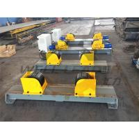 Carry 5 Ton Turning Rolls Welding Rotator For 2300mm Diameter Self Centering Manufactures
