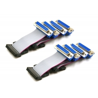 DB25P IDC Ribbon Cable Manufactures