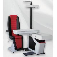 Buy cheap Ophthalmic Unit with Chair Black and Red Leather Chair for Two Instruments from wholesalers