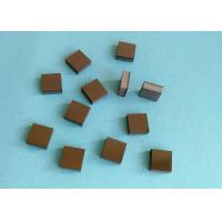 Tips Square PCD Cutting Tool Blanks Diamond And Tungsten Carbide Brazed Manufactures