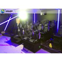 Wonderful 12 Special Effects Mobile 7D Cinema Theater / 7D Interactive Motion Theater Manufactures