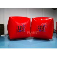 1.5M Cube Race Marker Inflatable Water Buoys For Water Sports Event Manufactures