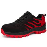 Buy cheap Anti Slippery Safety Running Shoes Breathable Lightweight Mesh Upper from wholesalers
