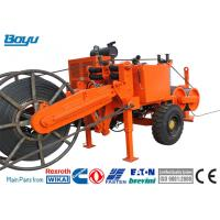 Buy cheap 77kw 103hp Transmission Line Stringing Equipment Hydraulic Puller Cummins Engine from wholesalers