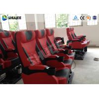 Exciting 4D Cinema Equipment Seats Can Movement From Front To Back 50 - 200 Seats Manufactures