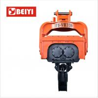 Buy cheap BeiYI Steel Pile Vibratory Pile Hammer High Frequency Vibratory Driver for EX300 from wholesalers