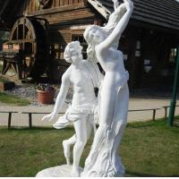 marble statue, Apollo and Daphne mable sculpture,China stone carving Sculpture supplier Manufactures