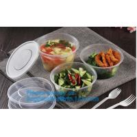 disposable cornstarch convenience takeaway plastic food bowl,BPA free bamboo fiber plastic food bowl with FDA, fast food Manufactures