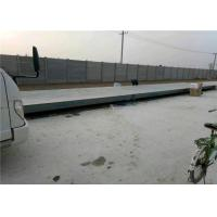 10mm Plate Thickness Pit Mounted Weighbridge , Mechanical Truck Scale Large Screen Display Manufactures