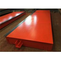 20t - 200t Capacity Portable Weighbridge U Shape Beam Structure 10-12mm Plate Thickness Manufactures