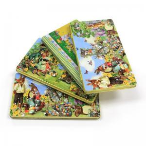 Wholesale Easter rectangular tin box for chocolates Manufactures