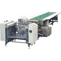 Buy cheap Intelligent Paper Gluing Machine , Gift Box Making Machine Firm Structure from wholesalers