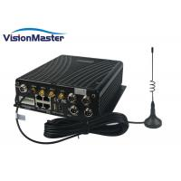 WiFi 3G 4G Mobile DVR H264 Compression 4CH 2TB HDD Aviation Connector With SD Card Manufactures