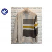 High Neck Fashion Pattern Womens Knit Pullover Sweater Thick Winter Jumper Manufactures