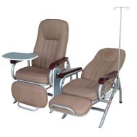 Luxious Hospital Transfusion Chair For Patient Use , Back Rest And Foot Rest Adjustable Manufactures