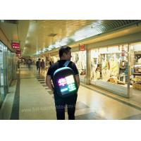 Buy cheap Wearable led screen / Dress led screen with vest for advertising promotion from wholesalers