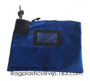 Locking Security Money Bag, Cash Bag,Bank Bag Canvas Keyed Security,Money Bag with Key Lock Keyed Security, security bag Manufactures