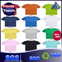 Various Color No Wrinkle Custom Personalized T Shirts For Adults 140g - 180g Manufactures