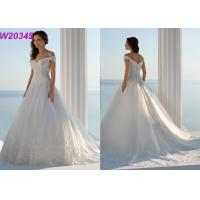 Cap Sleeve Off-Shoulder Court Train robe de soiree New Arrival Bridal Ball Gowns Manufactures