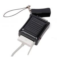 ABS 0.4W Solar Emergency charger for mobile phone / MP3 / Mp4 Manufactures