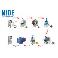 Noiseless Fully Automatic Motor Production Line 0~300mm Stator Dia High Performance Manufactures