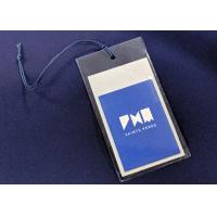 Personalized Clothing Hang Tags For Garments Gifts / Recyled PVC Labels Manufactures