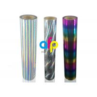 Strong Adhesion Laser Holographic Rainbow Hot Stamping Foil For the Fabrics Manufactures
