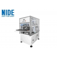2 Pole 3 Phase Stator Winding Machines With Double Working Stations / Flyers Manufactures