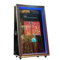 Buy cheap 65 inch photo booth shell touch screen kiosk machine mirror selfie photo booth from wholesalers