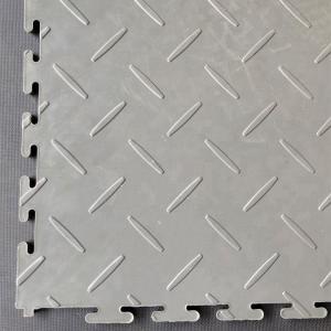 Heavy duty PVC indoor interlocking floor tiles for workshop/removable plastic interlocking warehouse floor mats Manufactures