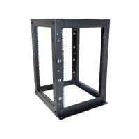 16U 4 Post Network Equipment Rack Strong Steel Construction 610 x 610mm Size Manufactures