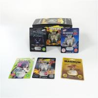 Buy cheap Sexual Enhancement Pills Blister Card Packaging Rhino Series For Powder Sex from wholesalers