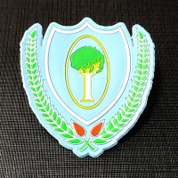 Clothing Printed TPU Label Badges Heat Transfer 3D Patches Sew Cils Accessories Manufactures