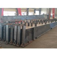 Roof Metal Support Beam , Castellated Building Steel Beams In H Shape Manufactures