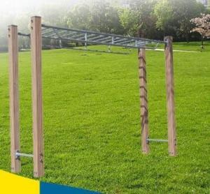 Overhead Ladder / Horizontal Ladder For Fitness, Exercise Ladder Supplier Manufactures