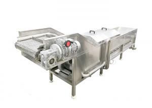 Vegetable 300kg/h SS304 Plantain Chips Blanching Machine Manufactures