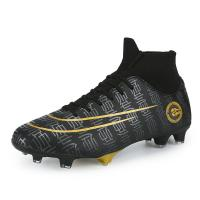 Boy's Athletic Comfy Football Boots , Lightweight Soccer Cleats Breathable Manufactures