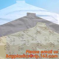 Transparent Cheap Clear Clothes cover LDPE Garment plastic Travel Bags dry cleaning bags on roll Manufactures