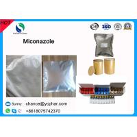 Buy cheap Anti Inflammatory Pharmaceutical Raw Drugs Miconazole CAS 22916-47-8 from wholesalers