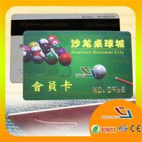 Buy cheap Plastic Membership Card with Embossed Numbers from wholesalers