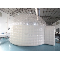 3.8m Height Plato Inflatable Igloo Marquee For Trade Show Manufactures