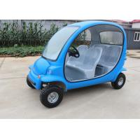 Buy cheap Blue Electric Sightseeing Car 4 Wheels For Renting 2250*1220*1550mm 7 Km/H Max from wholesalers