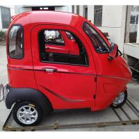 Adults 60V 800W Enclosed Trike Motorcycle Manufactures