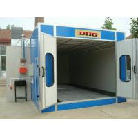 Outdoor Down Draft Car Spray Booth , Industrial Spray Painting Booths Manufactures