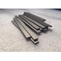 Tungsten Carbide Bars / Strips For Metal Cutting , With 45 Degree Angle Surface Manufactures