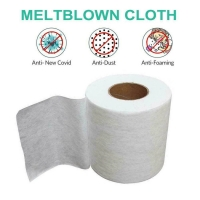 ASTM 99% BFE PP Interlining Meltblown Nonwoven Fabric Manufactures