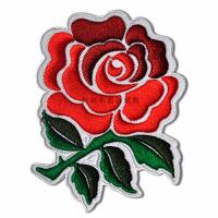 Embroidered Applique Patches with Embossed On Flower Decoration Custom Size Manufactures