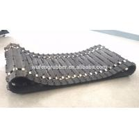 China snowmobile rubber track for sale on sale